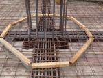 高层建筑节点处不同强度等级混凝土同步施工工法