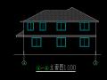 两层乡村别墅方案