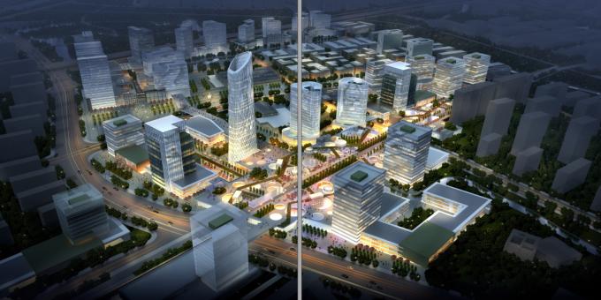 [浙江]多维灵动创意体验空间城市景观规划设计方案_1
