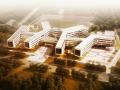 [山东]方窗立面底层架空小学建筑设计方案文本