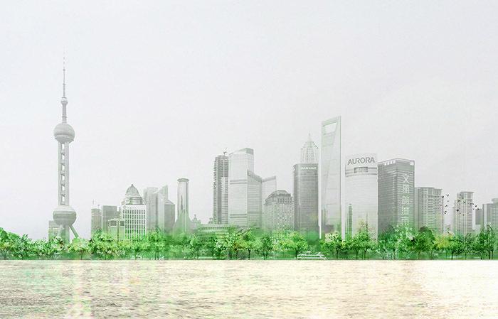 上海黄浦江东岸贯通设计规划概念方案