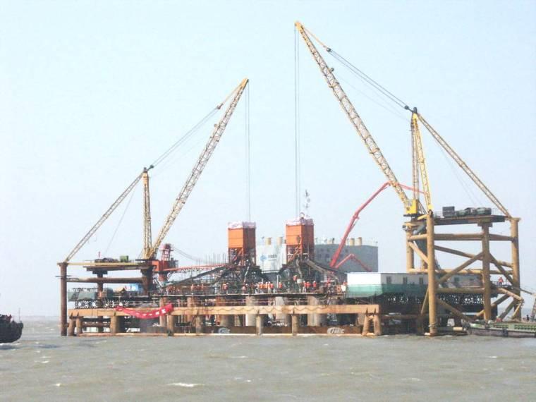跨海大桥大体积混凝土施工与管理讲义