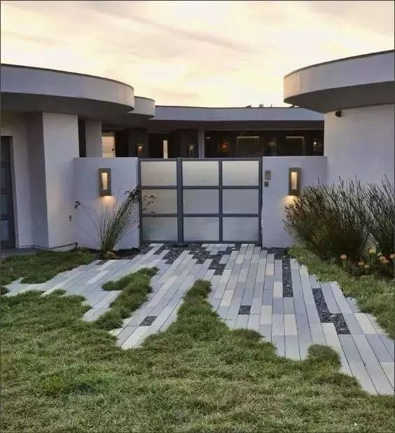 精美的铺装设计,让庭院更有档次!