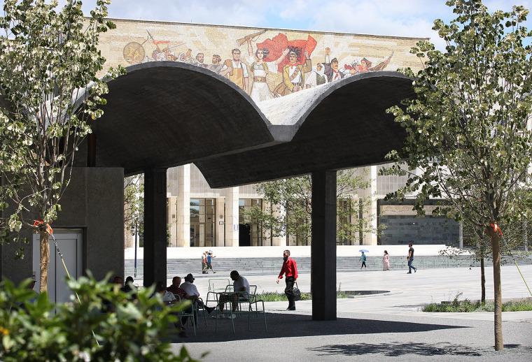 阿尔巴尼亚Skanderbeg广场改造-5