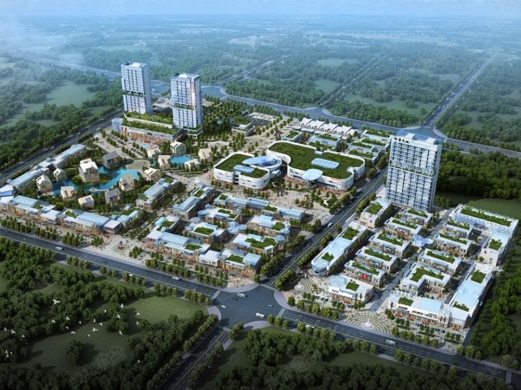 北京燕東微電子產業園電氣圖