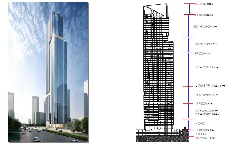 广州琶洲某超高层办公楼的加强层选型分析