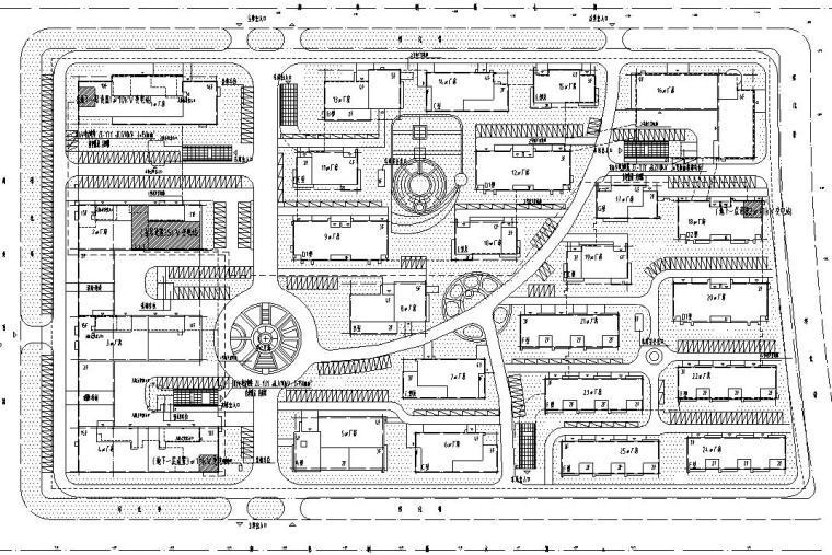 天津35KV、10KV变电站施工图