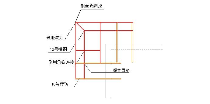 落地式+悬挑式外脚手架施工方案