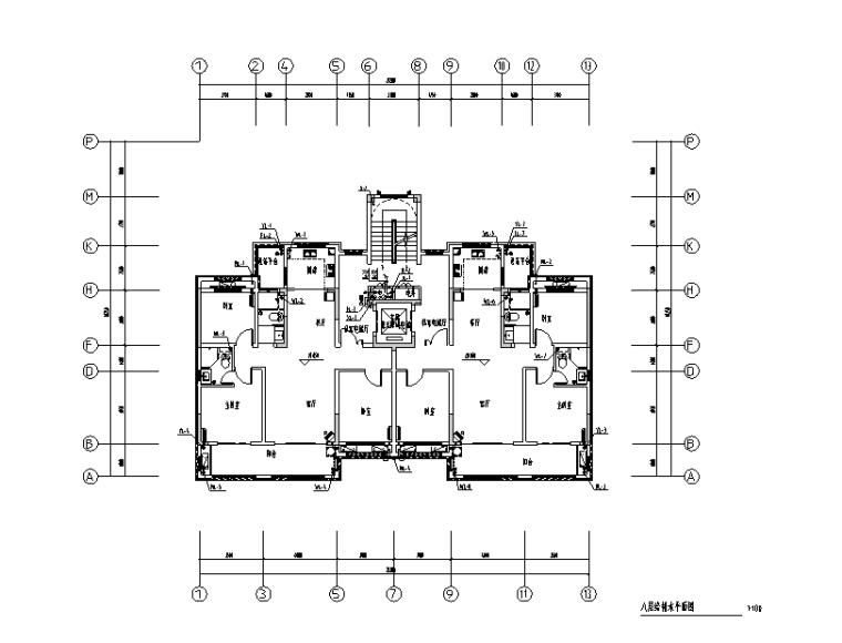 安徽大型住宅小区全套水电电图纸(甲级院设计)