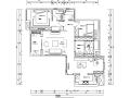 左岸香颂|现代美式样板间设计施工图(附效果图)