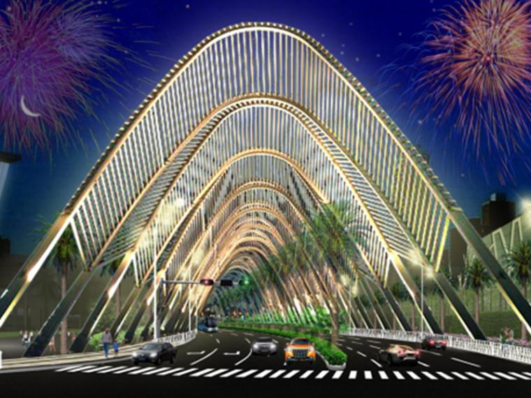 [深圳]沿线道路景观设计方案(动感,创意,科技,生态)