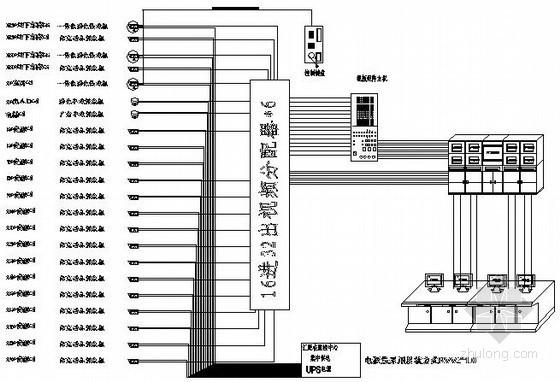 高端产业园弱电视频监控系统施工图(含机房工程)