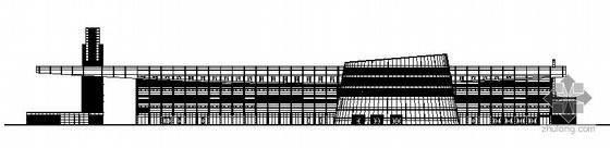 上海某长途客运站建筑施工图