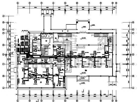 某服务区VRV空调施工图