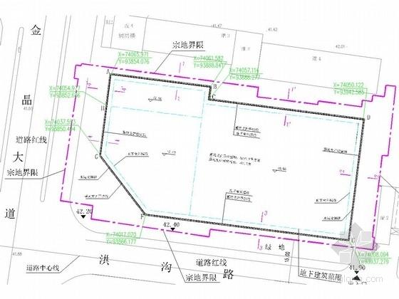 [山东]10米深基坑复合土钉墙支护施工图(附计算书)