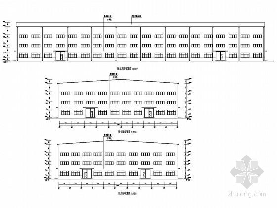 75吨吊车厂房结构施工图(含建筑图)