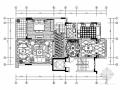 低调奢华欧式风格跃层样板间室内装修施工图(含效果图)