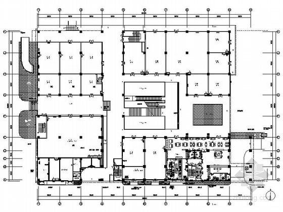 [苏州]工业园商业中心高档现代五星级商务酒店装修施工图(含效果)