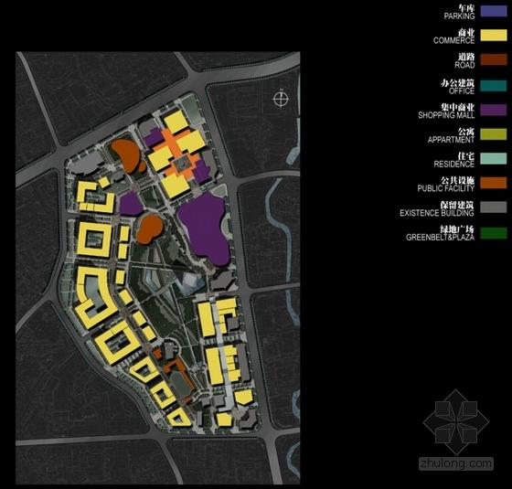 [贵州]绿色生态可持续性城市规划设计方案文本(国际知名设计院)-绿色生态可持续性城市规划设计平面图