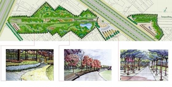 [山东菏泽]生态休闲绿地规划设计方案