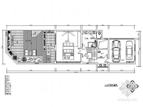 [湖南]四层联排别墅中式风格室内设计施工图(含效果图)