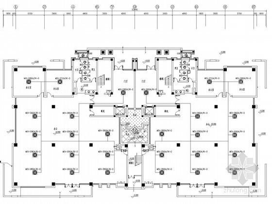 [浙江]独栋产业用房办公楼空调通风排烟系统设计施工图(甲级院设计)