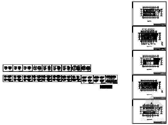 某国税局服务楼包房施工图-4
