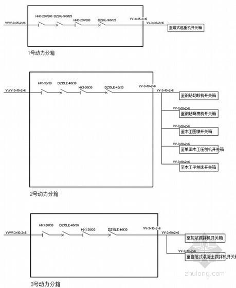 建筑施工现场临时用电施工方案(计算书)