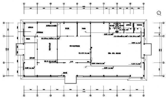 注塑园区燃气辐射采暖设计图