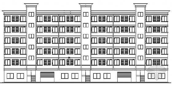 某职工六层公寓建筑施工图