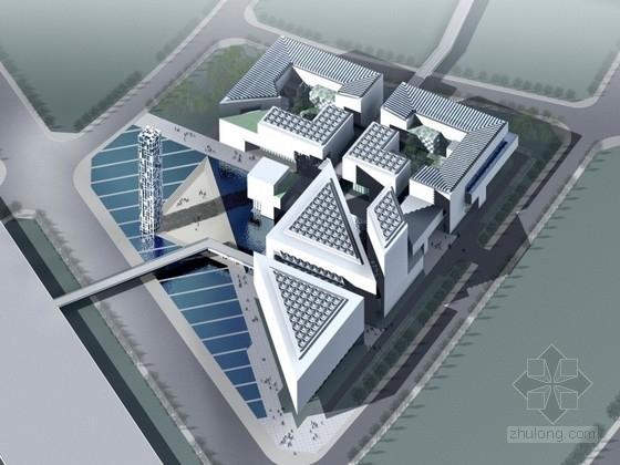 [上海]世博会中国馆参赛设计方案文本(含CAD)