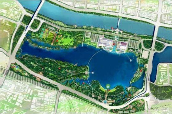 湖北武汉文化主题公园景观设计方案