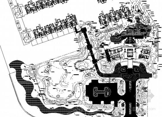 [海南]滨海居住小区园林景观全套施工图