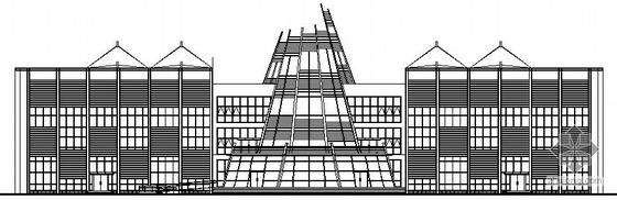 [贵州省水城]某三层售楼中心建筑施工图