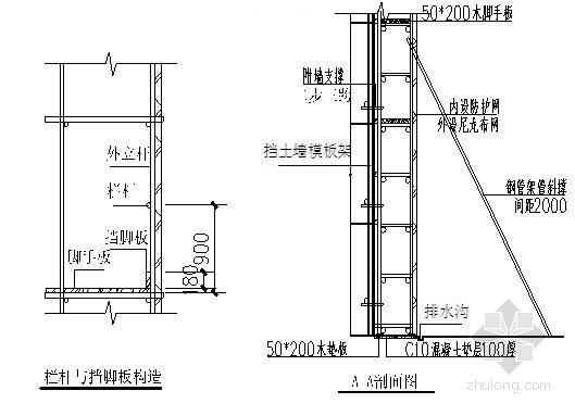 [重庆]农村安置房挡土墙施工方案