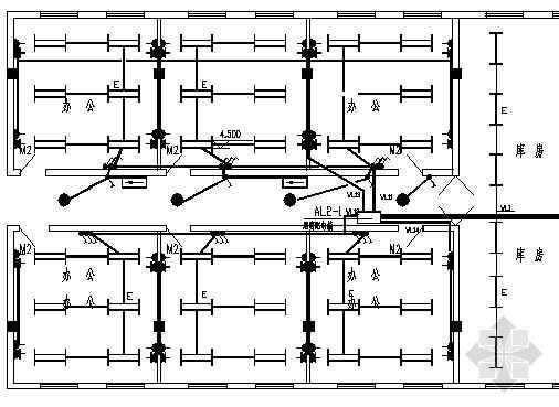 大型超市电气设计图