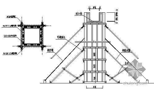 某高层病房楼工程施工组织设计(115.8m 框剪 核心筒)