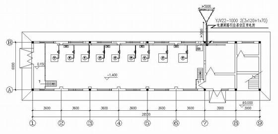 某消防水泵全套PLC电气控制图