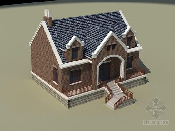 别墅建筑3D模型下载