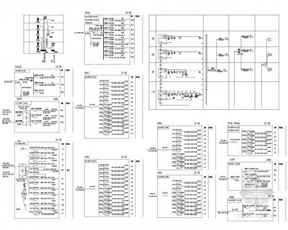 [安徽]140万平小区配套设施幼儿园全套电气施工图