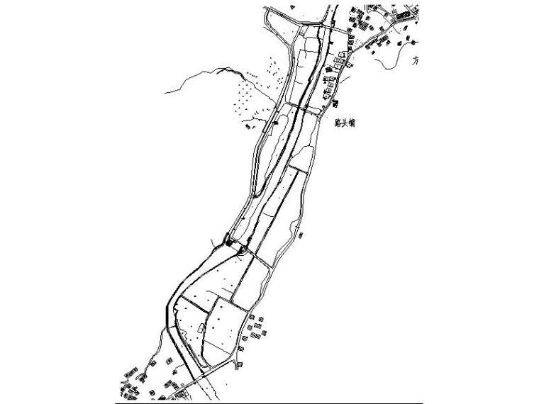 [浙江]县级河道景观改造二期施工图