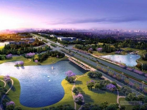 [四川]森林城市道路景观规划设计方案