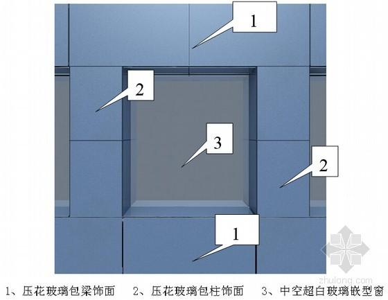 [深圳]超高层塔楼基座幕墙施工方案(包梁包柱压花玻璃系统)
