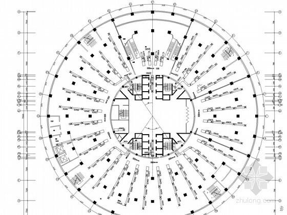[河南]高层商业建筑空调通风系统设计施工图(水源空调)