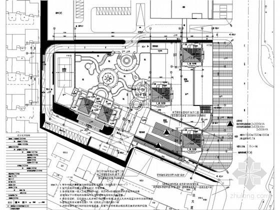 [浙江]十五万平商住楼强弱电系统施工图