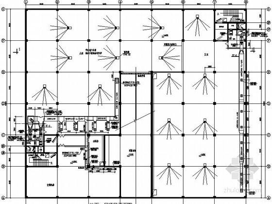 物资仓库六级人防通风设计施工图