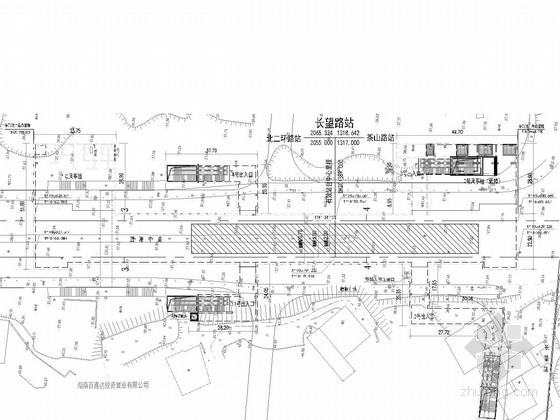 [湖南]地铁车站设计图纸111张(含交通疏解 著名地铁公司)