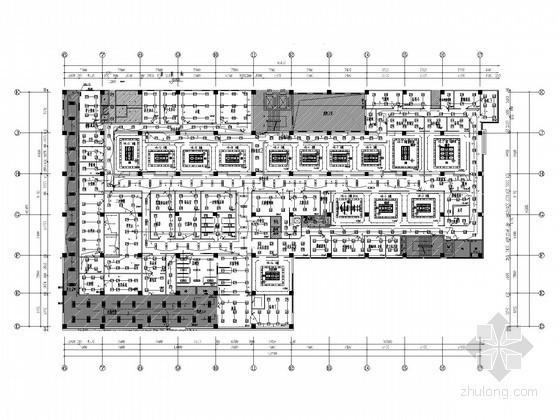 [河北]综合性医院全套电气图纸(含空调净化 装饰)