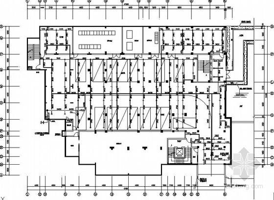 [东莞]某酒店桑拿SPA楼给排水施工图