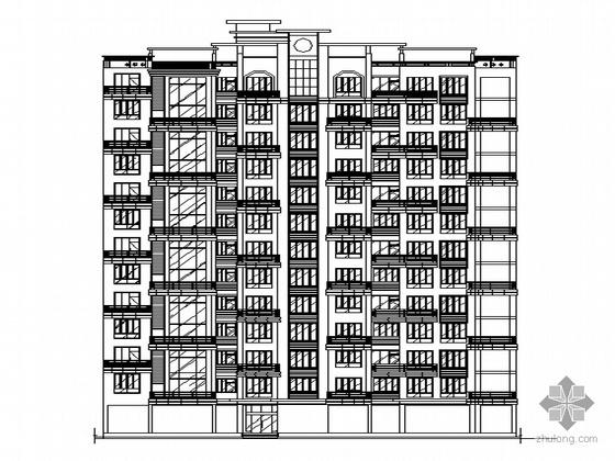某十三层一梯三户高层住宅楼建筑施工图